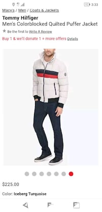 Tommy hilfiger's men's quilted puffer jacket Minneapolis, 55402