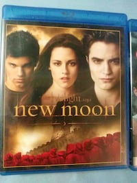 Eclipse and New Moon on blu ray Glen Burnie