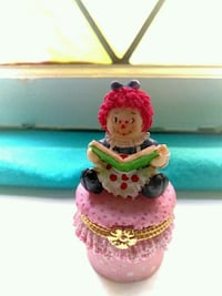 Adorably Cute Raggedy Ann Doll jewelry box