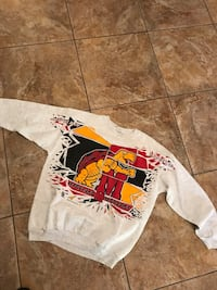 Men's Vintage Maryland Terrapins Crewneck Sweater by Lee College Park, 30349