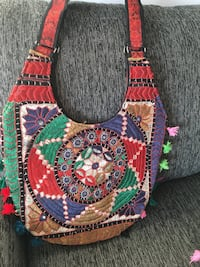 Multicoloured handbag Mont-Royal, H3R 2S4