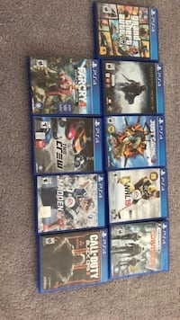 Ps4 games Airdrie, T4B
