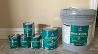 Pro Classic Sherwin Williams Paint for TRIM and Doors all for $120 color: Cream.  Farmington Hills, 48336