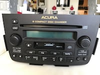 ACURA MDX_ Radio/CD Changer Toronto, M2J