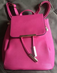 pink leather crossbody bag with wallet Montreal