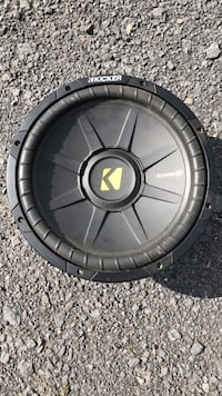 "Kicker CompS Series 12"" 4ohm Subwoofer Sherrill, 13461"