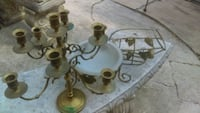 Vintage wine holder,candle,and candy bowl San Antonio, 78242