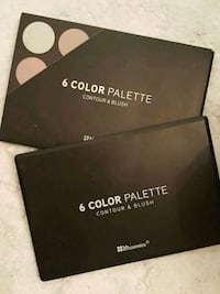 HB cosmetics 6 color Contour & Blush palette only Mississauga