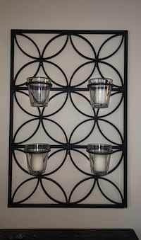 Iron votive candle decorative wall hang Fairfax, 22033