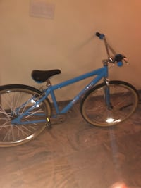 blue and black hardtail bike New York, 11356