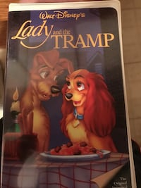 Disney's lady and the tramp vhs  New Brunswick, 08901
