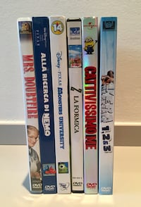 Dvd disney originali e nuovi