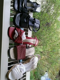 New shoes.Various pairs summer  size 9-10 leather  Takoma Park, 20912