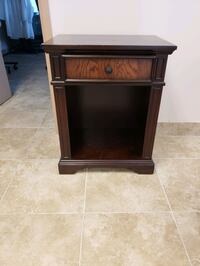 Dark brown Solid wood night stand Mississauga, L5T 2B3