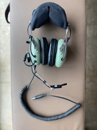 DAVID CLARK H10-76 AVIATION HEADSET (military/helicopter)
