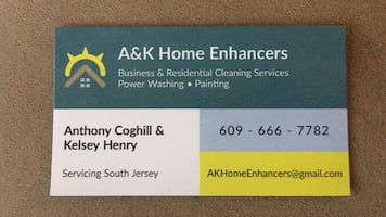 House cleaning, power washing, & painting
