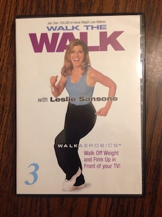 Walk The Walk With Leslie Sansone Dvd for sale  Cleveland, GA