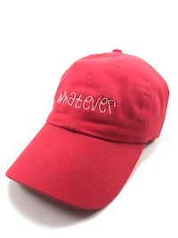 Red whatever dad hat  Mississauga, L5L 2B9