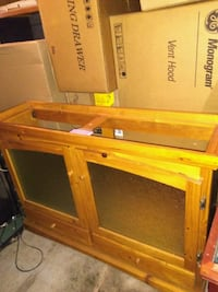 Wood 48x13 fish tank stand, New Fairfax Station