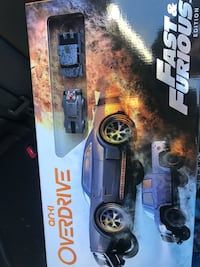 Anki robotics fast and furious edition. pls look it up before so you know what you're trying to get. brand new never been opened 240+gst in stores. asking 200 obo 3127 km