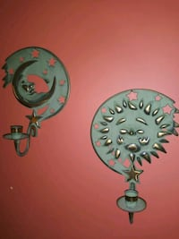 Home interior sun and moon sconces. Woodburn, 97071