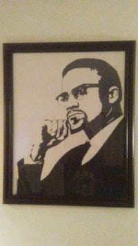 Malcolm X Hand Drawing 28 by 26 Phoenix, 85051