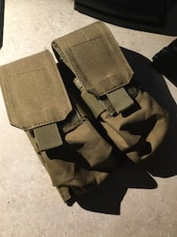 Airsoft double stack M4 mag double mag pouch Spokane, 99217
