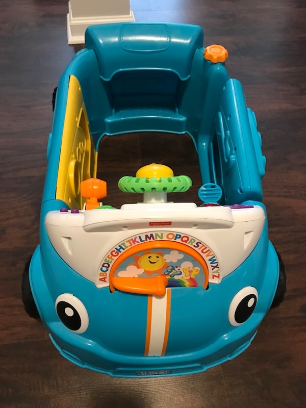 49bba79dd Used Fisher-Price Laugh   Learn Smart Stages Crawl Around Car
