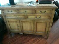 brown wooden sideboard with cabinet Temecula, 92592