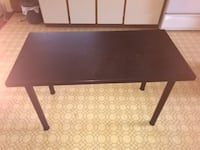 Rectangular brown wooden coffee table Vancouver, V5R 3T8
