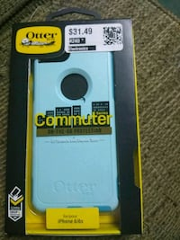 white and green Otter Box iPhone case Salem, 36874