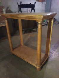 brown wooden console table Toronto, M4Y 2L1