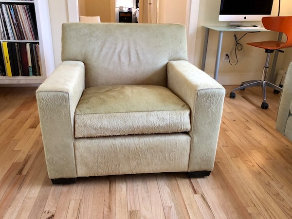 Tremendous Christian Liaigre At Holly Hunter Club Chair New 4 500 Reverse Cowhide Fuzzy Color Chartreuse Creativecarmelina Interior Chair Design Creativecarmelinacom