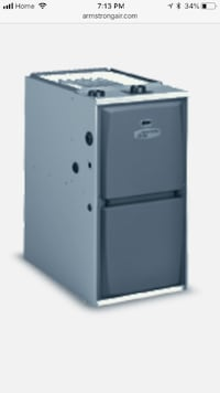 93% Armstrong Air Gas Furnace Calgary