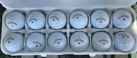 A Dozen Calloway Chrome Soft Golf Balls-Pre Owned- AAAA Condition Jackson, 08527