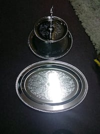 Vintage Matching silver plated serving trays Jacksonville, 36265