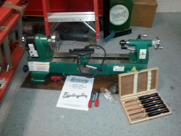 Lathe For Sale >> Grizzly 10 Wood Lathe New