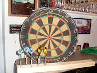 dart board and 2 sets of darts OSHAWA
