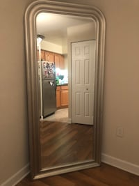 Large silver ceiling to floor mirror Alexandria, 22304