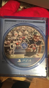 Madden NFL 17 PS4 game disc Lowell, 28098