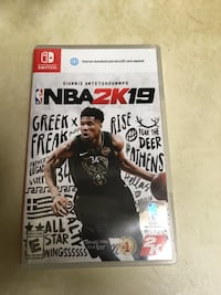 NBA 2K19 Nintendo switch version  Washington, 20005