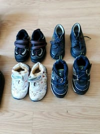 toddler's four pairs of shoes Lachute, J8H