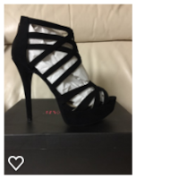 Black Cage Stiletto SZ 8.5 North Fort Myers