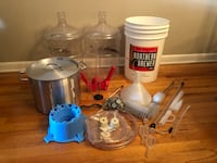 Beer making kit with hydrometer and pot Hoboken, 07030