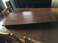 Rectangular brown wooden dining table New Westminster, V3M 2R3