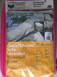 "Chair cover (for patio lawn chair) Brand New/Never Used, colour: champagne, measures: 30""W x 80""D x 27""H Toronto"