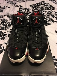 pair of black Air Jordan 11's with box Hyattsville, 20782