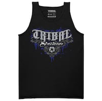 Black tank Tribal with logo. Size M. New Los Angeles, 90026