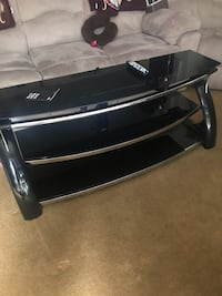 black and gray TV stand Columbia, 21045