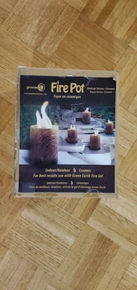 Fire Pot by green earth (NEW)